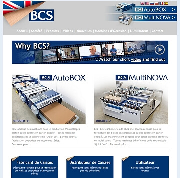 Multi language websites for British engineering company